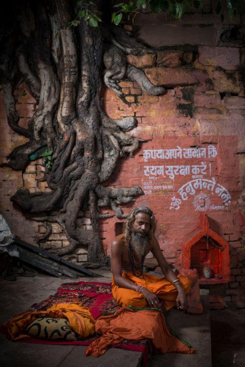 Sadhu Varanasi Benares