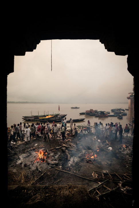 Crematorio Varanasi