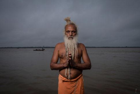 Sadhu Varanasi Ganges
