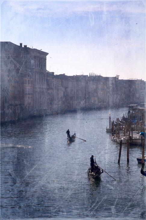 Gondoleros Venecia