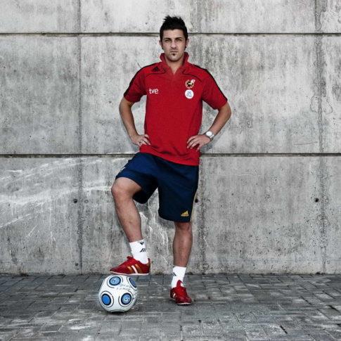 Futbolista David Villa