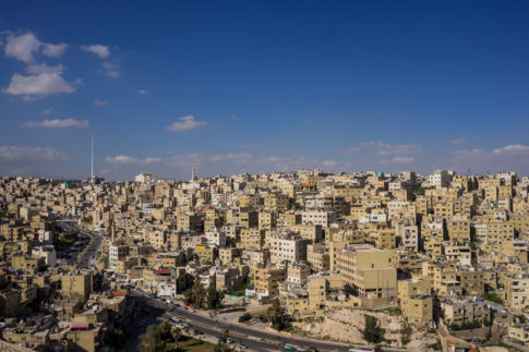 Amman Sightseing from Citadel